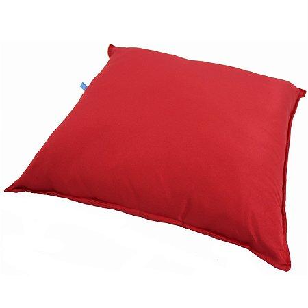 Capa para Almofada Lisa Vermelha 1046
