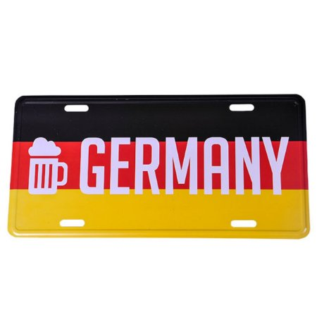 Placa Germany Collection