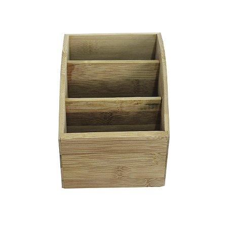 Suporte Controle Remoto de Bambú