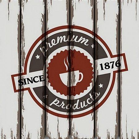 Quadro em Canvas Coffee Since 1876
