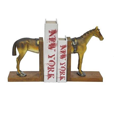 Suporte de Livros Cavalo