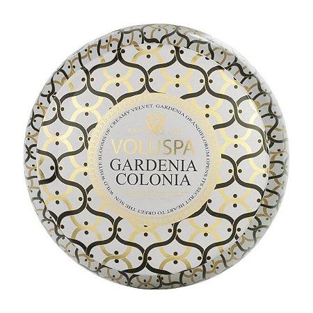 Vela Gardenia Colonia Lata 2 Pavios 50h