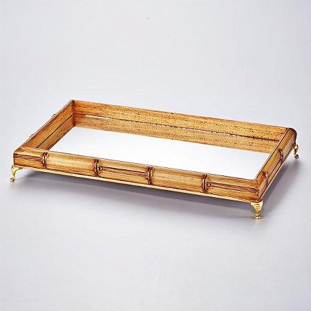 Bandeja Perfil Bambu 29 Cm