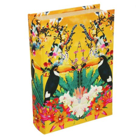 Caixa Livro Tropical Tucano