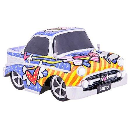 Miniatura Carro Vintage - Romero Britto