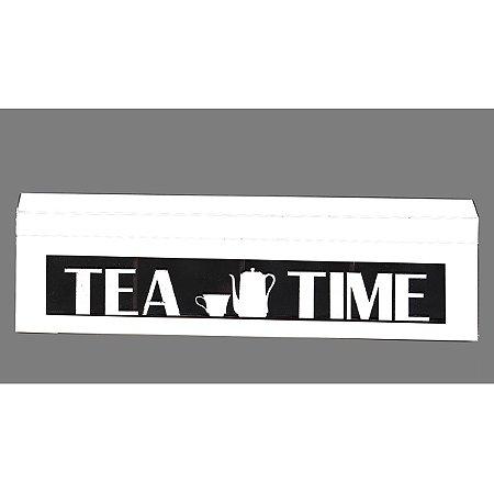 Caixa de Chá Léia Branca