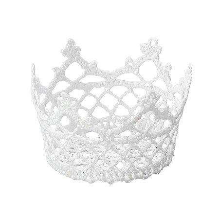 Cesta de crochê resinado 10cm