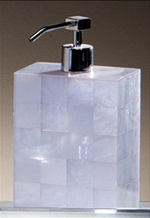 Porta Sabonete Líquido Giuli Branco
