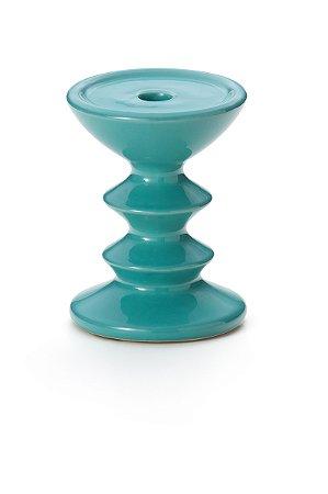 Castiçal Azul 15.5cm