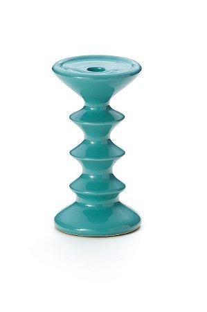 Castiçal Azul 21,5cm