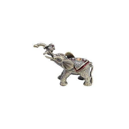 Porta jóia elefante 11cm