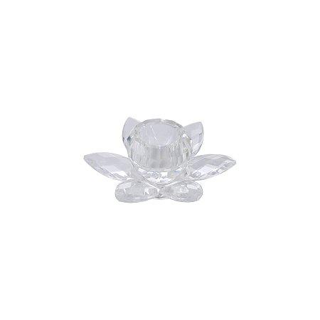 Castiçal Flor 4cm