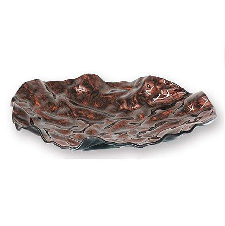 Centro de Mesa Oval Bronze