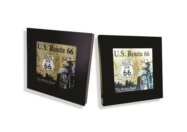Quadro Route 66 luminoso