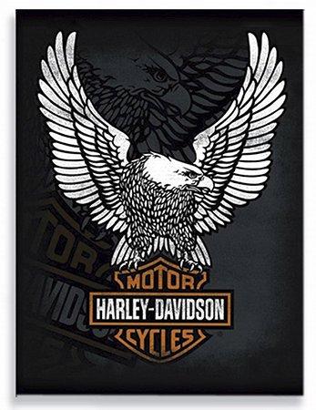 Placa Harley Águia
