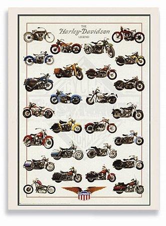 Placa Harley Coleção