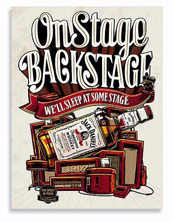 Placa Jack Daniels On Stage