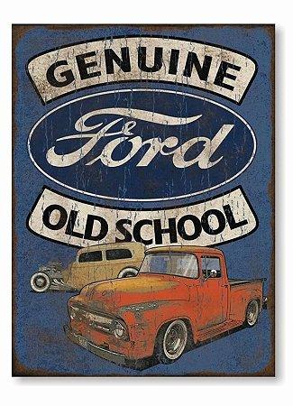 Placa Genuide Old School P