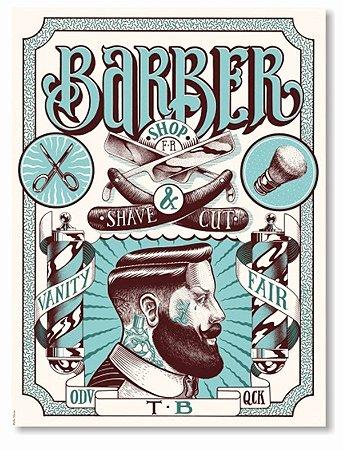 Placa Barber Shop