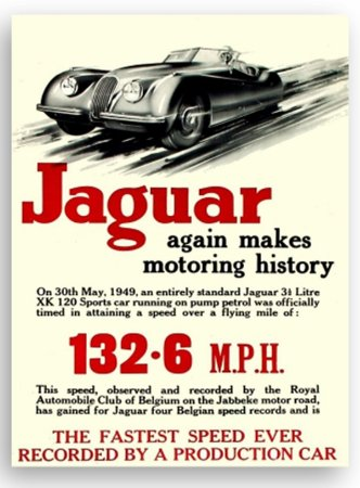 Placa Jaguar