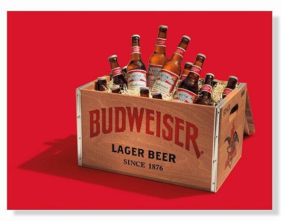 Placa Budweiser Box