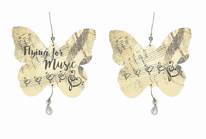 Mobile Borboleta Flying For Music