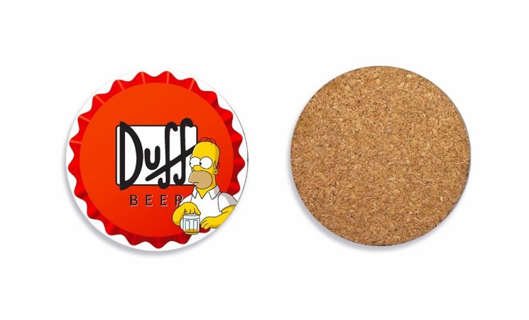 Porta Copos Duff e Simpson