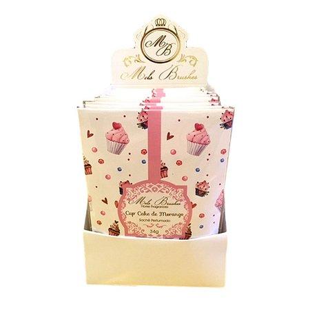 Sachê perfumado Cupcake 34g - 10 unidades
