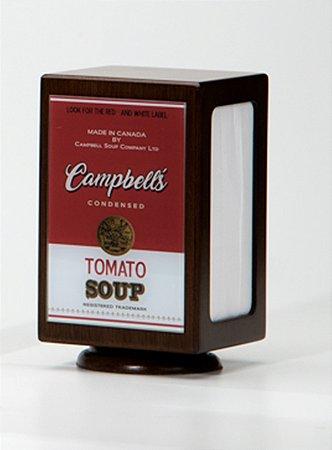 Porta guardanapos Campbells