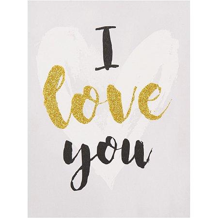 Quadro I Love You