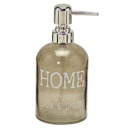Porta sabonete líquido Home Cinza