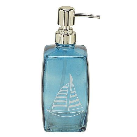 Porta sabonete líquido Barco Azul