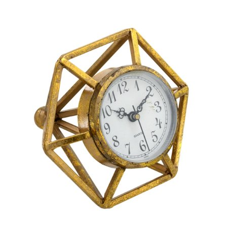 Relógio de mesa Dourado