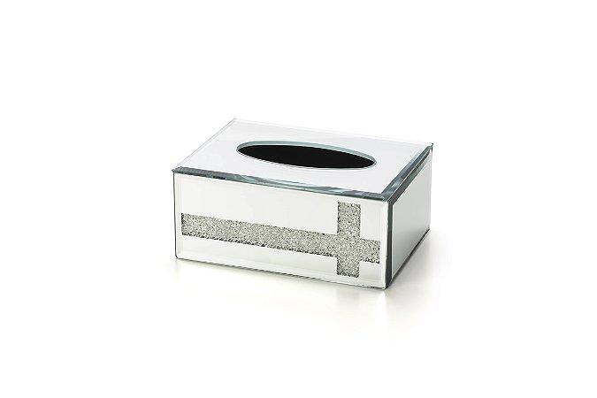 Caixa p/ Lenço Glitter Cristal