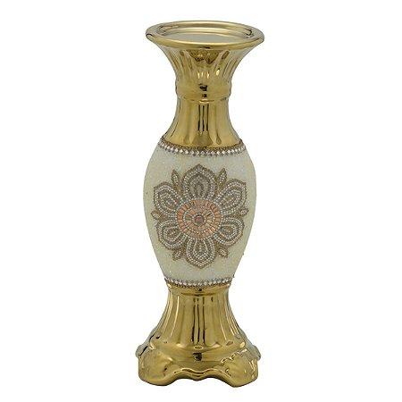 Candelabro Dourado 30cm