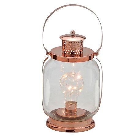 Lanterna Led Rosé 23cm