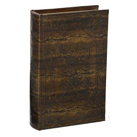 Caixa Livro Marrom