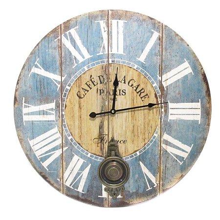 Relógio Parede Café de Paris