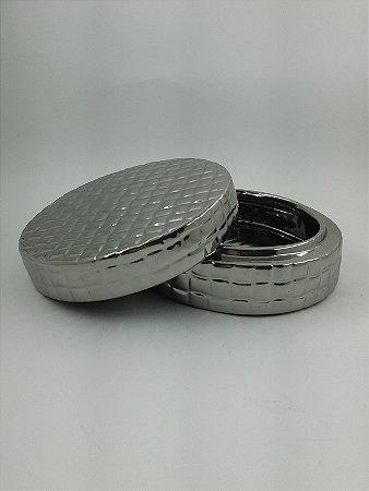 Caixa Redonda Silver P