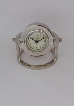 Relógio Redondo Prata