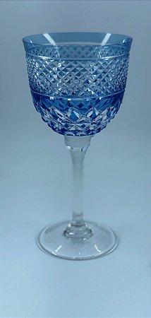 Taça p/ Vinho Branco Azul