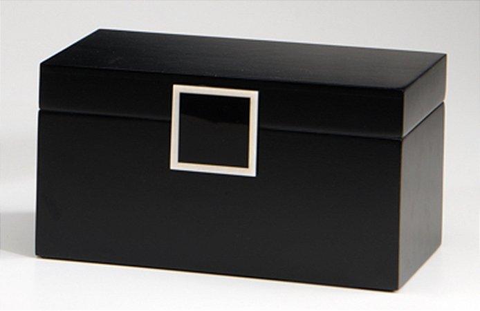 Caixa Decorativa Preta P