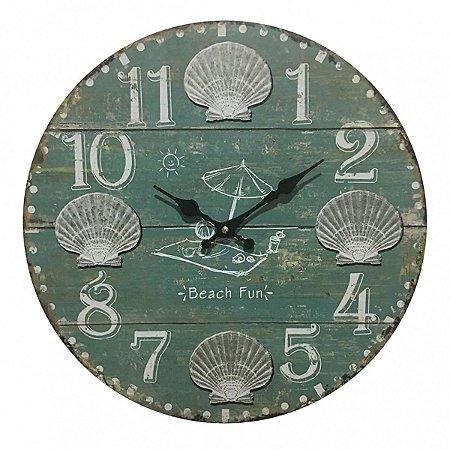 Relógio de Parede Beach Fun