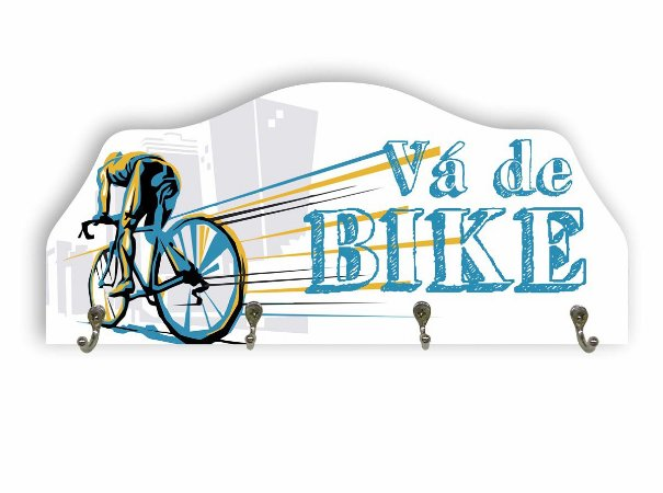 Porta Chaves Bike