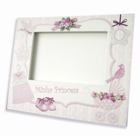 Porta Retrato Minha Princesa 10 x 15 Cm