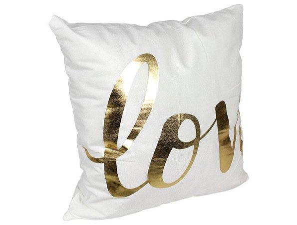Capa de Almofada Glamour Love