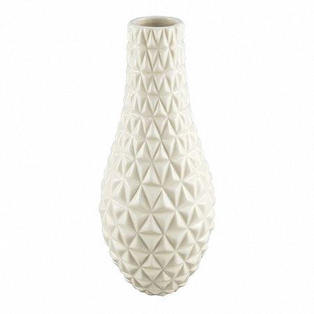 Vaso Branco com textura