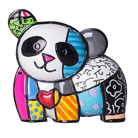 Figura Panda Miniatura - Romero Britto