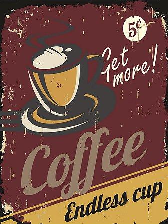 Painel Coffee Retro