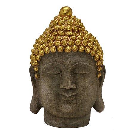 Cabeça Buda Decorativo 28,5cm